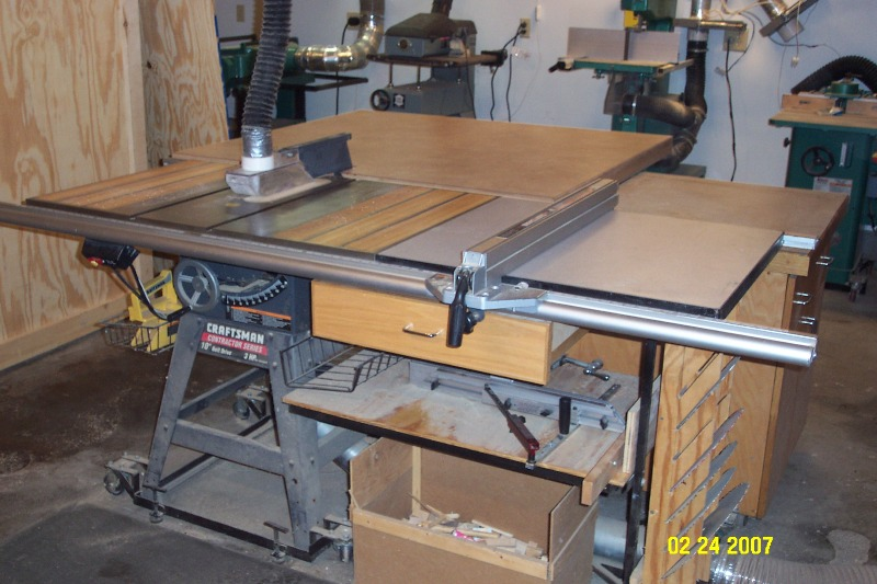 Craftsman Tablesaw Fence Woodworking Talk Woodworkers
