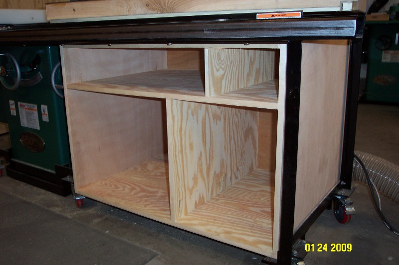 Dcp 0948 Jpg 567403 Bytes I Have Started A Cabinet Under The Extension Table