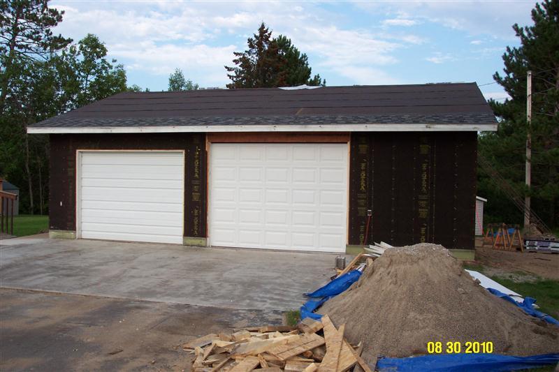 New woodshop plans for 10x7 garage door