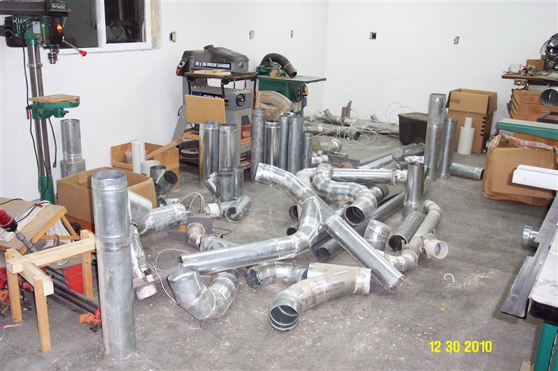 Dust Collection Duct : Wood projects for boyfriend outdoor trash bin plans