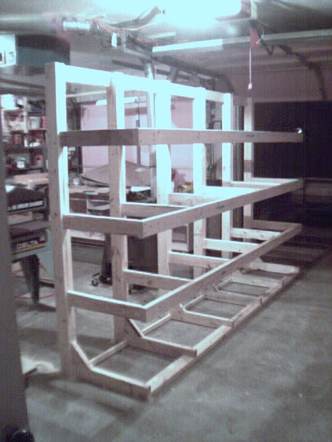 How To Build A Freestanding Lumber Rack